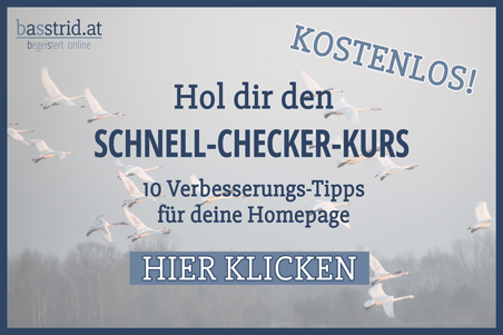 Pop-up-Schnell-Checker-Kurs