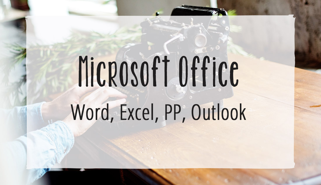 Microsoft Office Coaching