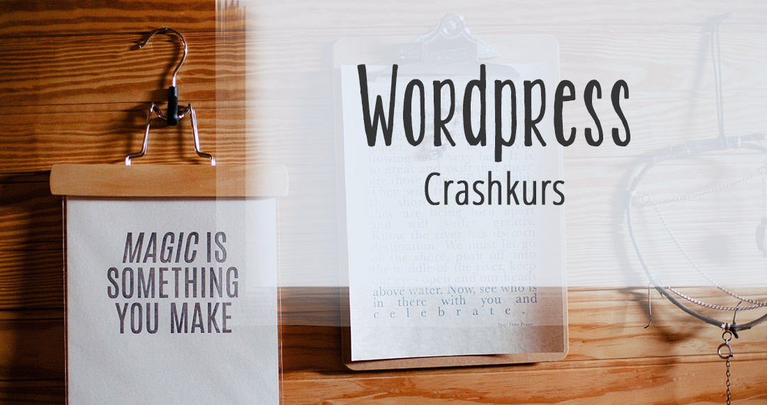 Wordpress Crashkurs basstrid